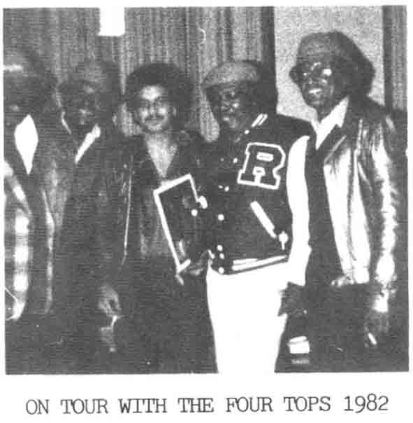 John did a 3 Week Tour with Soul Legends The Four Tops