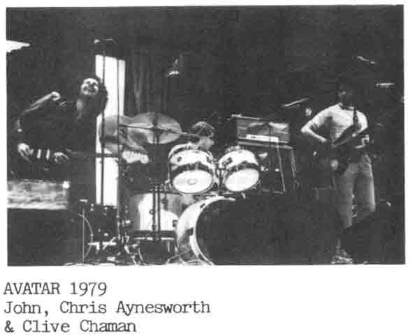 John worked with Bassist Clive Chaman of Rough and Ready Jeff Beck Fame and Drummer Chris Aynsworth who went on to gig with Morrissey and Mullen