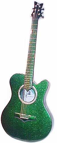 Emerald Acoustic Guitar