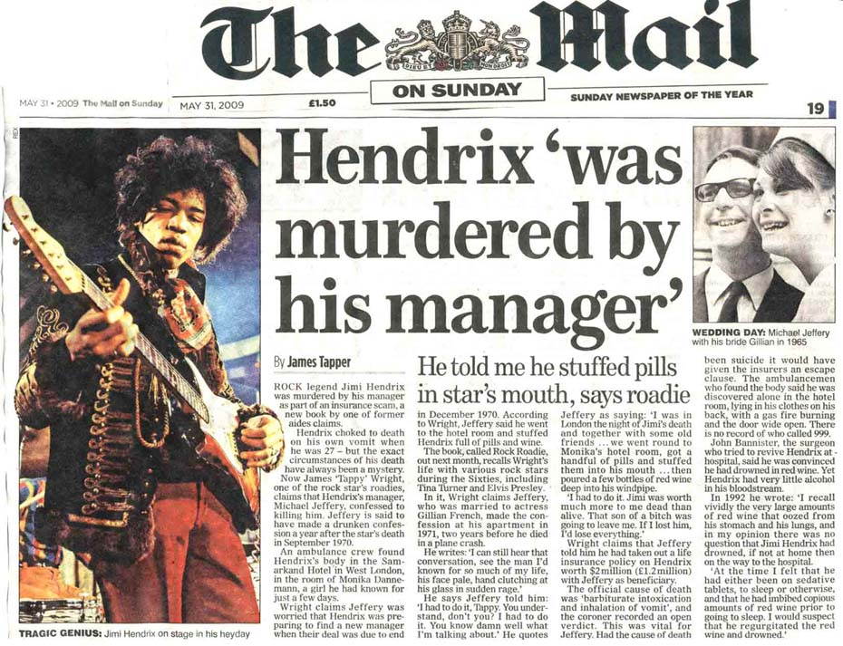 Jimi Hendrix Murdered The Music Industry Ultimately